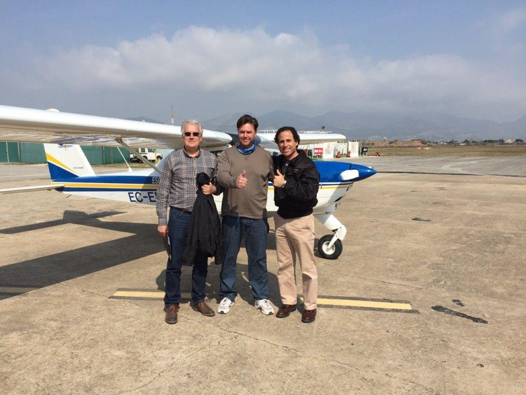 nuevo piloto de ULM